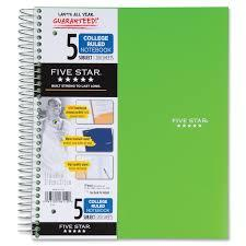 Stationery Notebooks