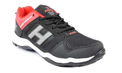 SPORTS SHOES MESS BLACK RED