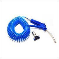 Coil Hose With Air Gun