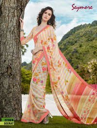 Latest Printed Sari