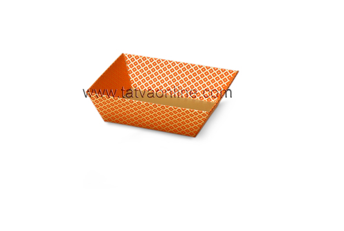 Small Orange Trays
