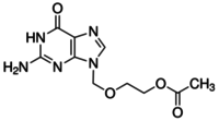 2-[(2-Amino-6-oxo-1,6-dihydro-9H-purin-9-yl)methoxy]ethyl acetate
