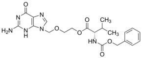 2-[(2-Amino-6-oxo-1,6-dihydro-9H-purin-9-yl)methoxy]ethyl N-(benzyloxycarbonyl)-L-valinate