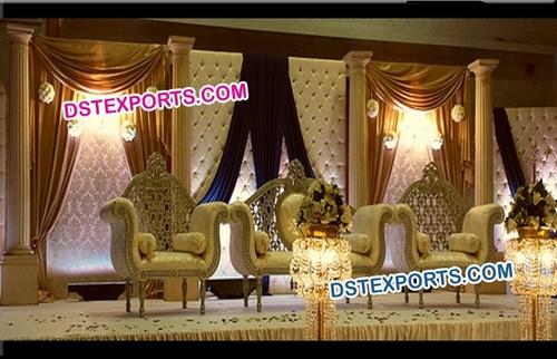 Wedding Tufted Panel Stage