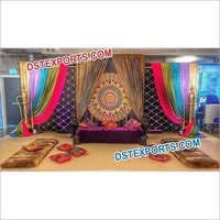 Arabian Wedding Stage Decoration