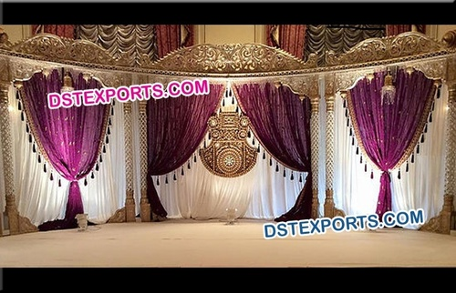 Royal Indian Wedding Stages Decoration