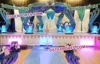 Peacock Theme Wedding Mandap