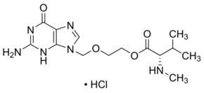 2-[(2-Amino-6-oxo-1,6-dihydro-9H-purin-9-yl)methoxy]ethyl N-methyl-L-valinate hydrochloride