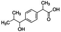2-[4-(1-Hydroxy-2-methylpropyl)phenyl]propanoic acid