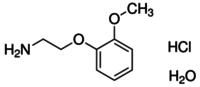 2-(2-Methoxyphenoxy)ethylamine hydrochloride monohydrate