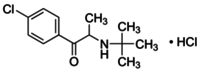 2-(tert-Butylamino)-4′-chloropropiophenone hydrochloride