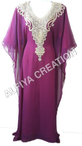Eid special fancy style farasha kaftan jilbab dress
