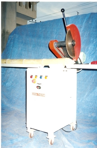 BAMBOO CROSS CUTTING MACHINE