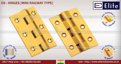 Hinges Mini Railway Type