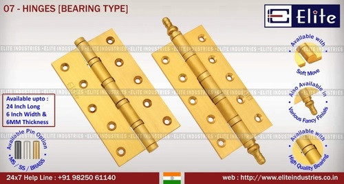 Hinges Bearing Type