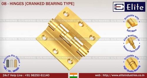 Hinges Cranked Bearing Type