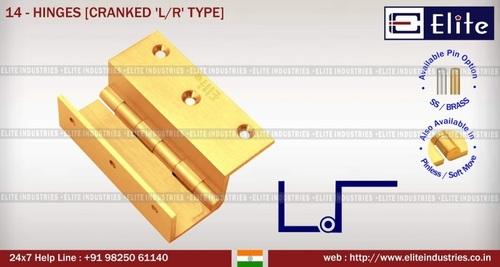 Premium Locking SS Washer Railway Type Hinges