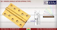 Hinges Single Action Spring Type