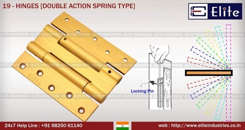 Hinges Double Action Spring Type