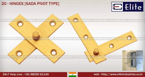Premium Bearing Type Hinges with Fancy Finials