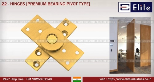 Security Bearing Type Hinges with 4 Bearing