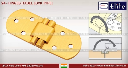 Hinges Table Lock Type