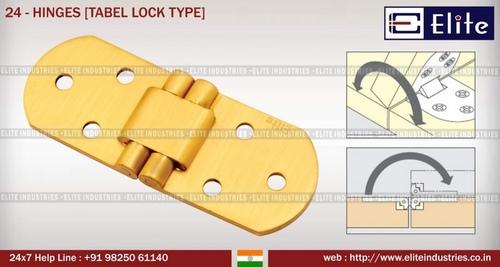 Hinges Table Lock Type