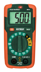 Mini Digital Multimeter With IR Thermometer