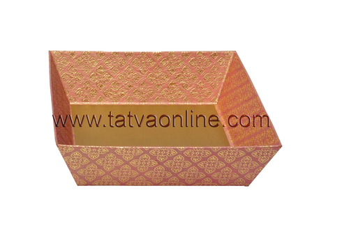 Large Pink Square Tray