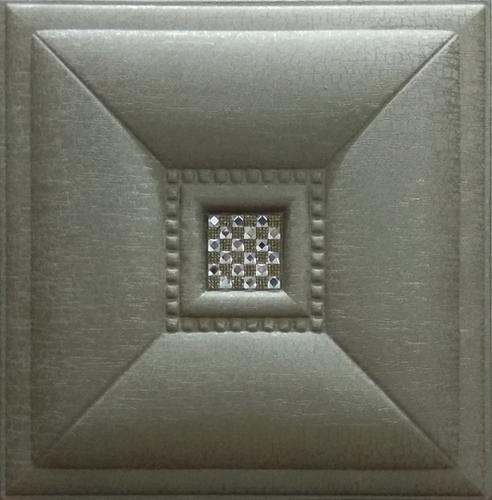 Metallic Bronze Leather Tiles