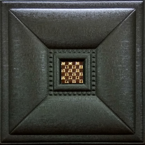 Leather Tiles Coffee Brown