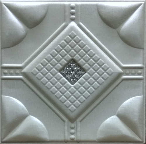Leather Panel Pearl White