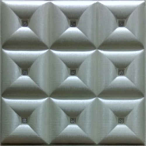 Pearl White 3D Wall Panel