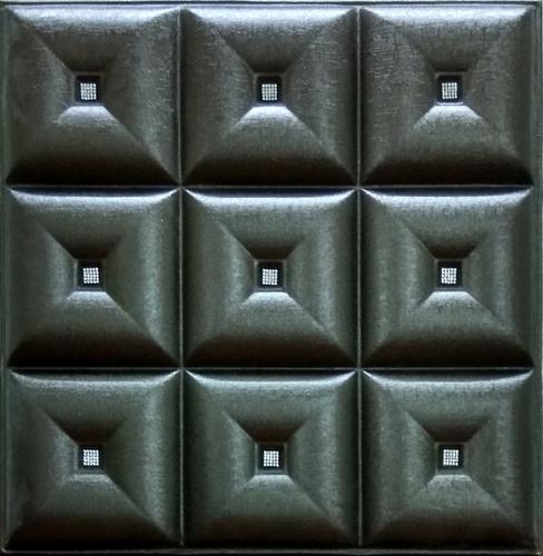3D Panel Metallic Silver