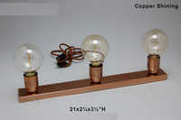 Iron and Steel Lamps