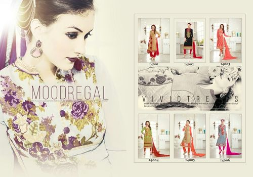 VEER'STUDIO (ZOOL VOL-9) Straight Salwar Kameez Wholesale
