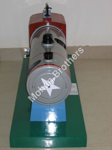 Locomotive Boiler Model