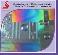 Custom Laser Marking on Holographic Sheets