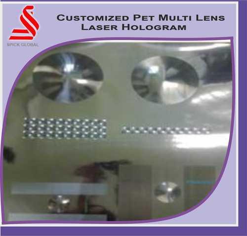 Holographic Multi Lens Pet Laser Dot Matrix Hologram Labels