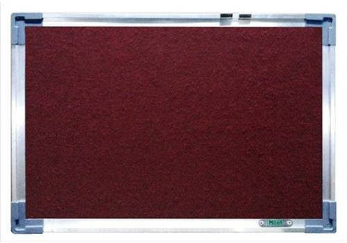 Felt Notice Board (Maroon)