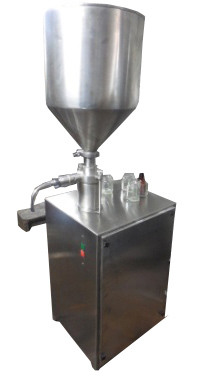 Curd Filling with foil sealing machine