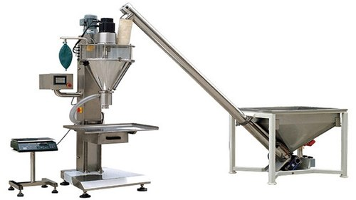 Automatic Auger Filler With Screw Conveyor