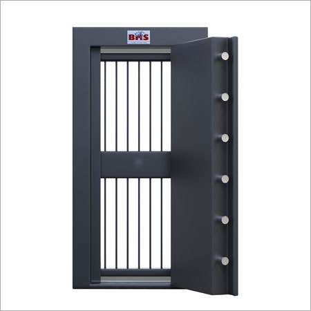 STRONG ROOM DOOR WITH GRILL GATE