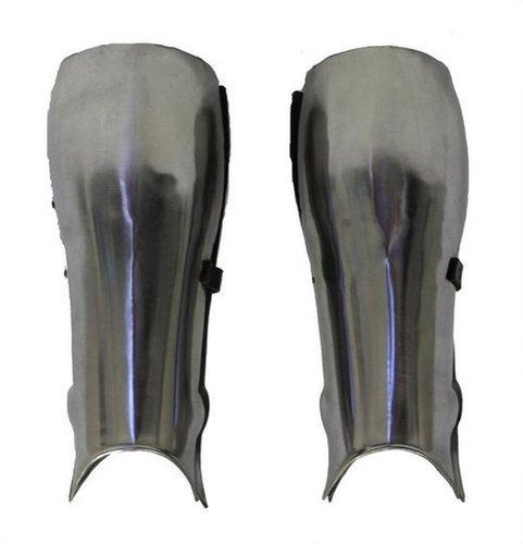 Men Steel Roman Leg Guard Medieval Armor