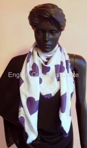 Silk Cotton Print Stoles