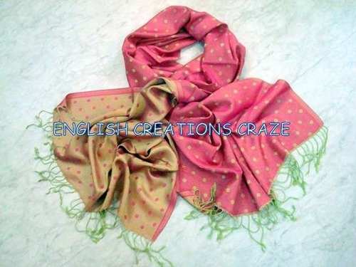 Silk Modal Reversible scarves