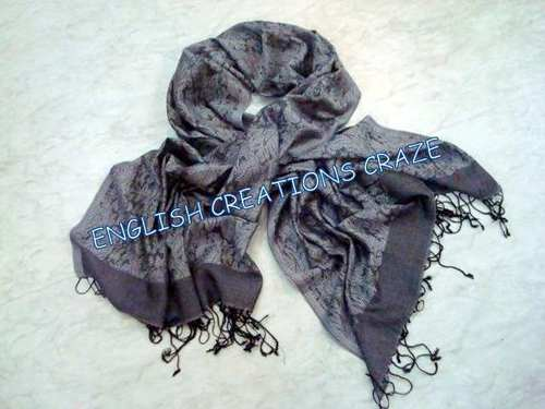 Silk Modal Two Tone Scarves