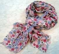 Silk Wool Solid Scarves