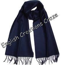 Wool Merino Melange Uni Color Stoles