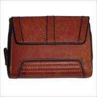 L10 X H12.5 Cm Burnt Vintage Notecase